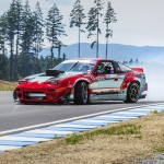 Vancouver Island Motorsport Circuit Drift Demo